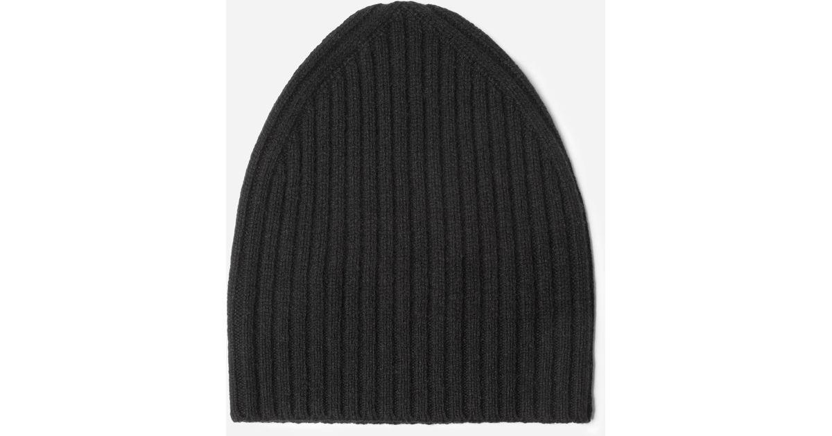dfe60422d7c5f Lyst - Everlane The Wool-cashmere Beanie in Black