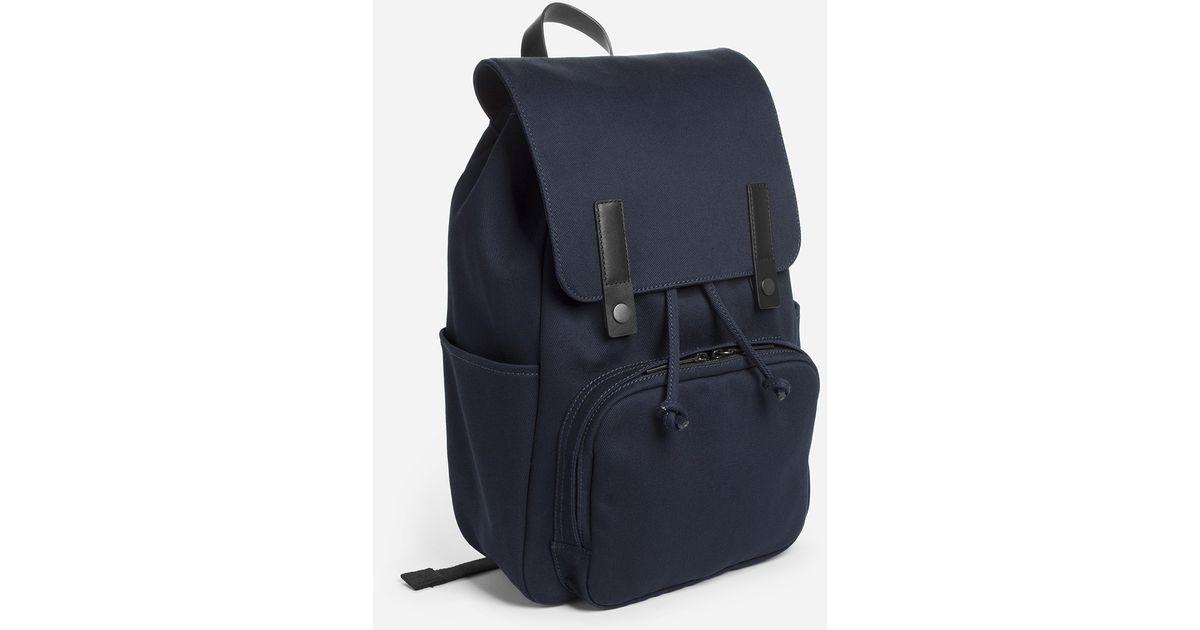 Lyst - Everlane The Modern Snap Backpack in Blue for Men 153e440449e09