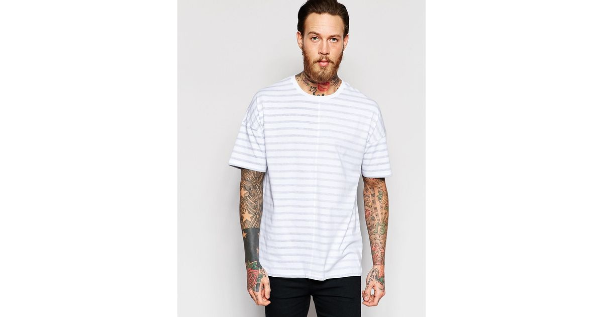 Find oversized striped t shirt at ShopStyle. Shop the latest collection of oversized striped t shirt from the most popular stores - all in one place. R 13 Black and White Striped Oversized Boyfriend T-Shirt $ Get a Sale Alert at Totokaelo R 13 Oversized.