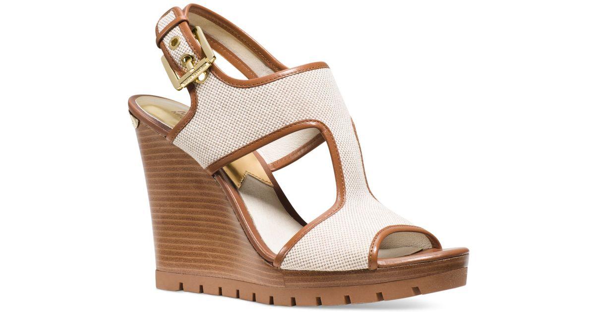 Michael Gillian Mid Wedge Sandals