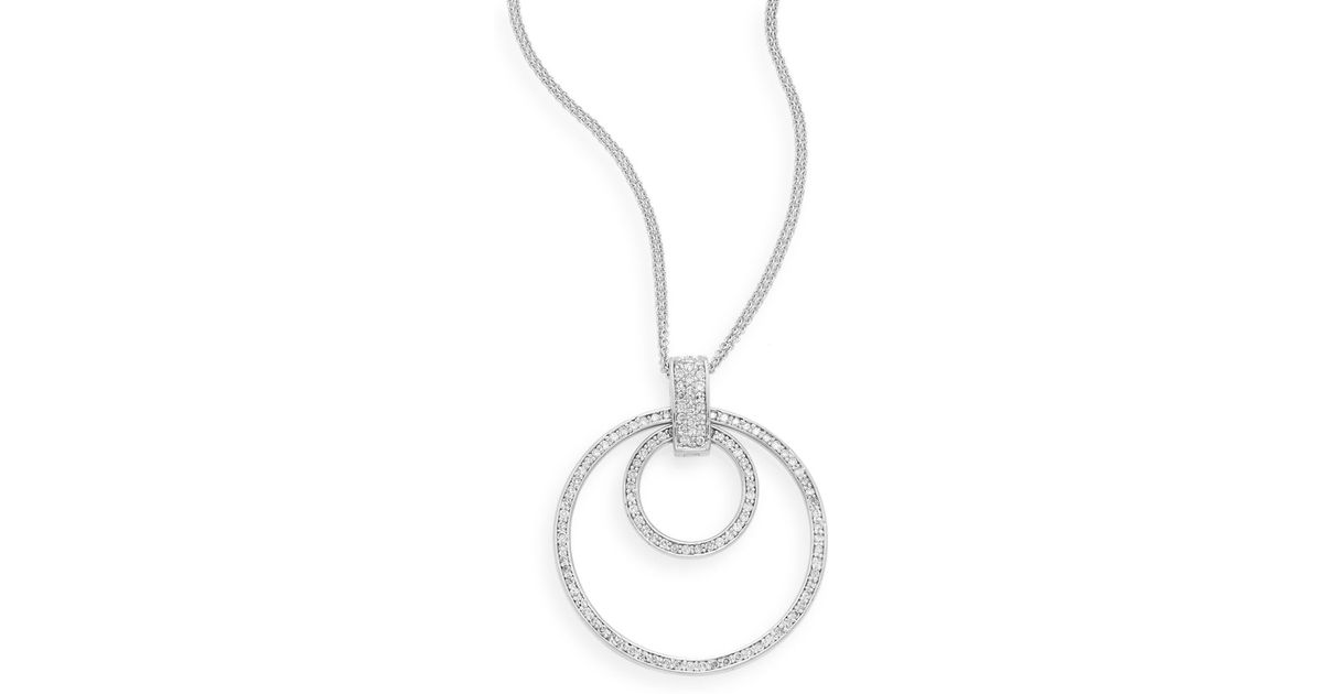 necklace circle perettieternal pendant eternal ed necklaces tiffany jewelry small sterling pendants in elsa co silver peretti