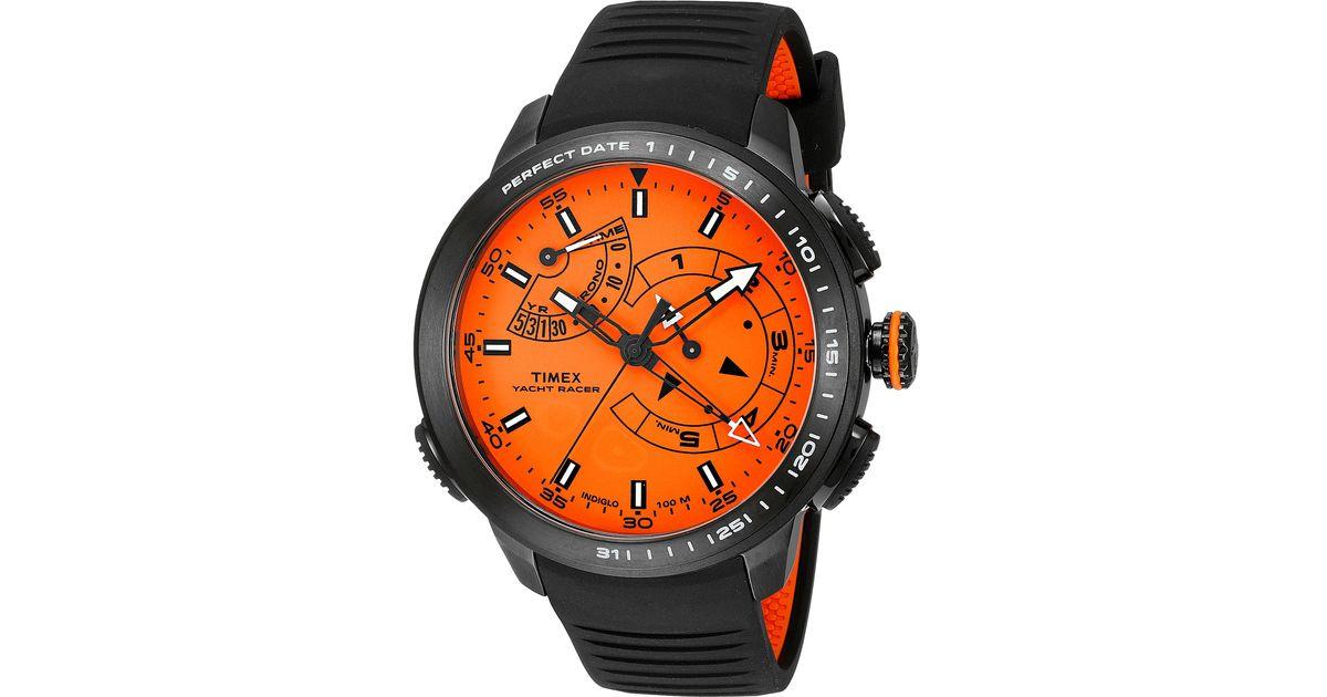 b9f181b9828b Timex Intelligent Quartz® Yacht Racer Pro in Black for Men - Lyst