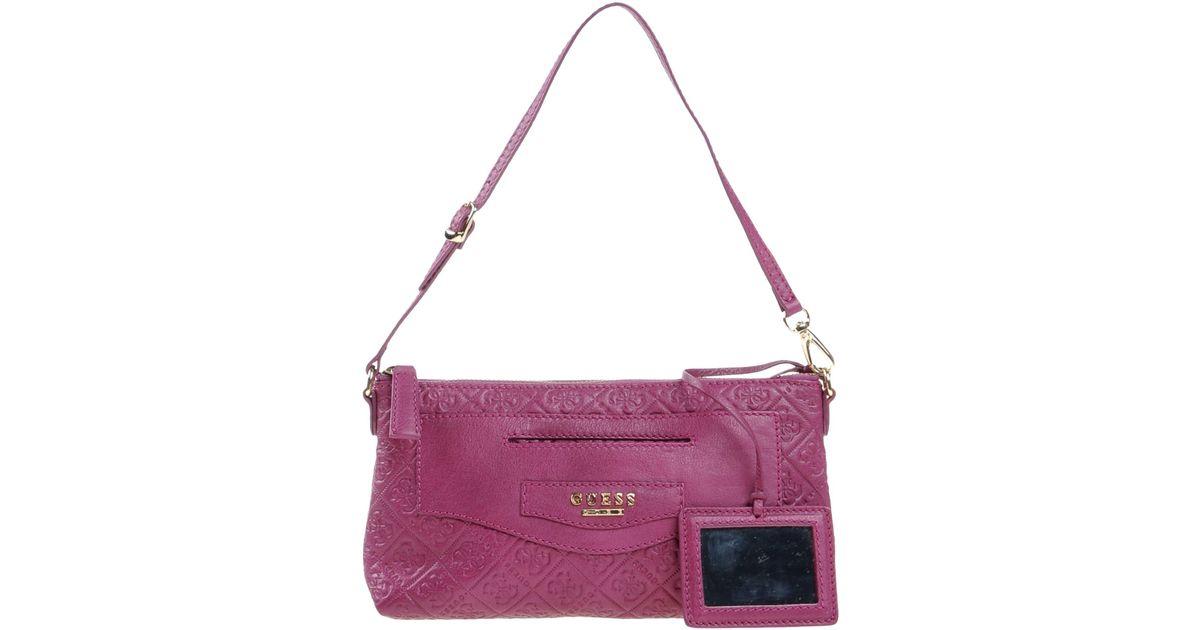 Lyst - Guess Handbag in Purple