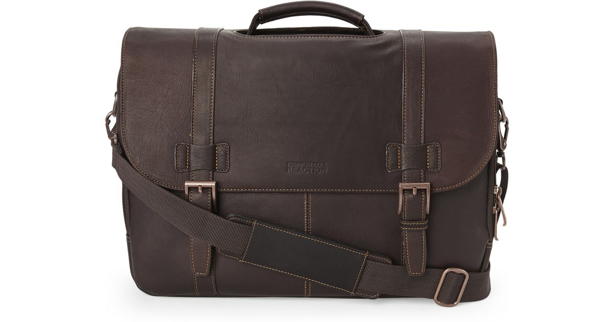 Lyst - Kenneth Cole Reaction Show Business Laptop Bag in Brown for Men