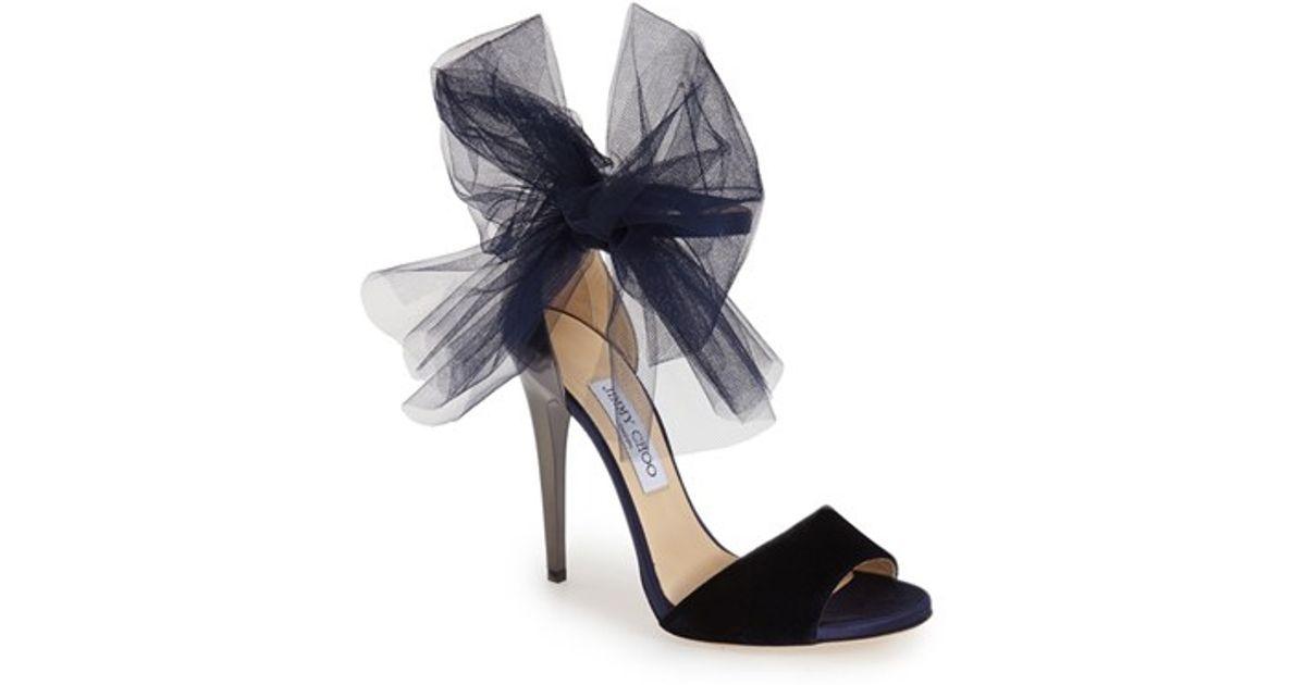 0ff506947e65 Lyst - Jimmy Choo  lilyth  Sandal in Blue
