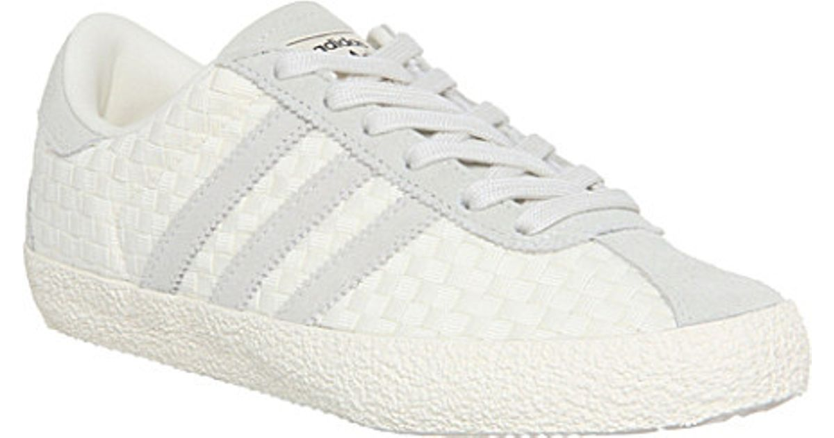 Adidas Gray Gazelle 70 Suede Woven Trainers - For Women