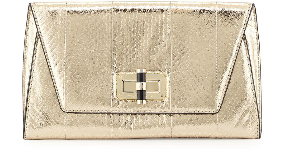 Furstenberg Clutch 440 Von Metallic Bag Diane Gallery Uptown gmIYf76yvb