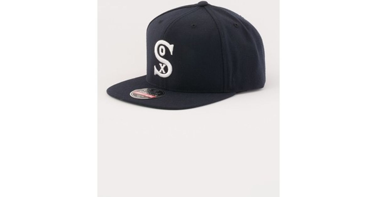 7c08baa9d2b American needle  chicago White Sox 1931 - 400 Series  Snapback Baseball Cap  in Black for Men