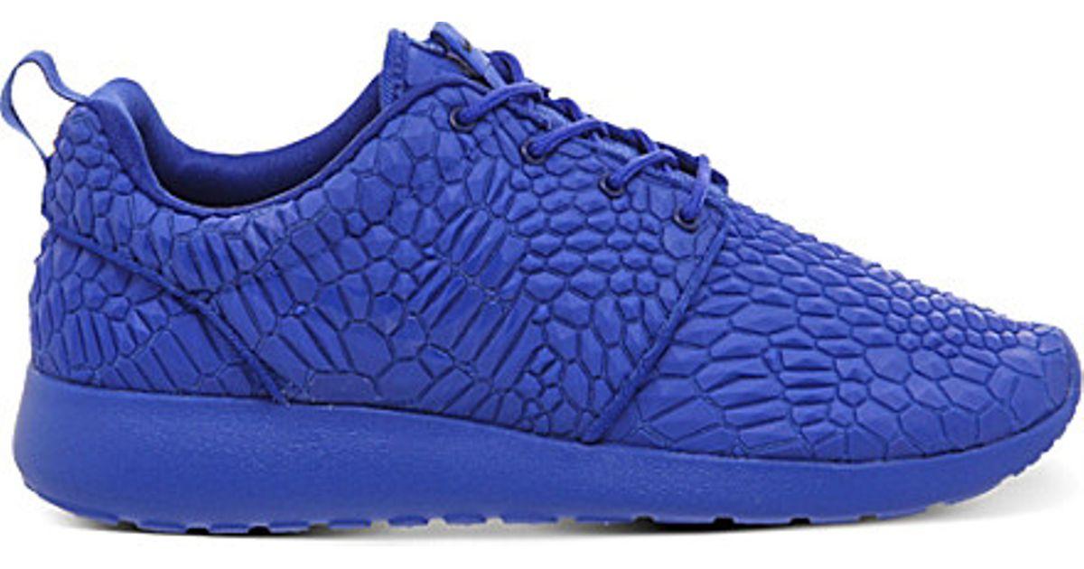 factory authentic b214f 8f6af Nike Purple Roshe Run Diamondback Trainers for men