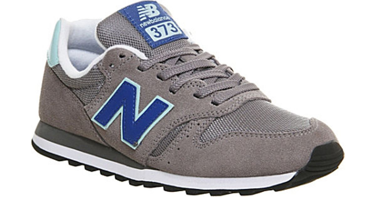 super popular 04c69 b057a New Balance Blue 373 Suede And Mesh Trainers - For Men for men