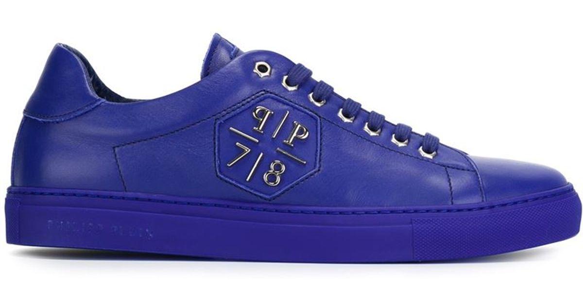 Philipp Plein Leather 'reaper' Sneakers