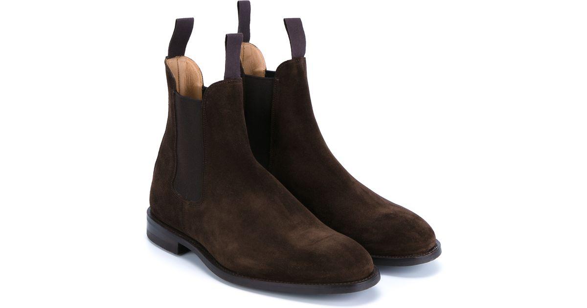 tricker 39 s chelsea boots in brown for men lyst. Black Bedroom Furniture Sets. Home Design Ideas