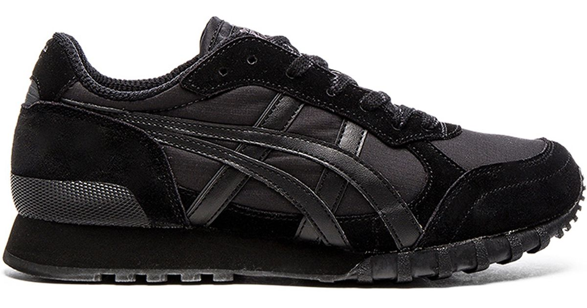 brand new 0922b 40f35 Onitsuka Tiger Black Colorado 85 Low-Top Sneakers for men