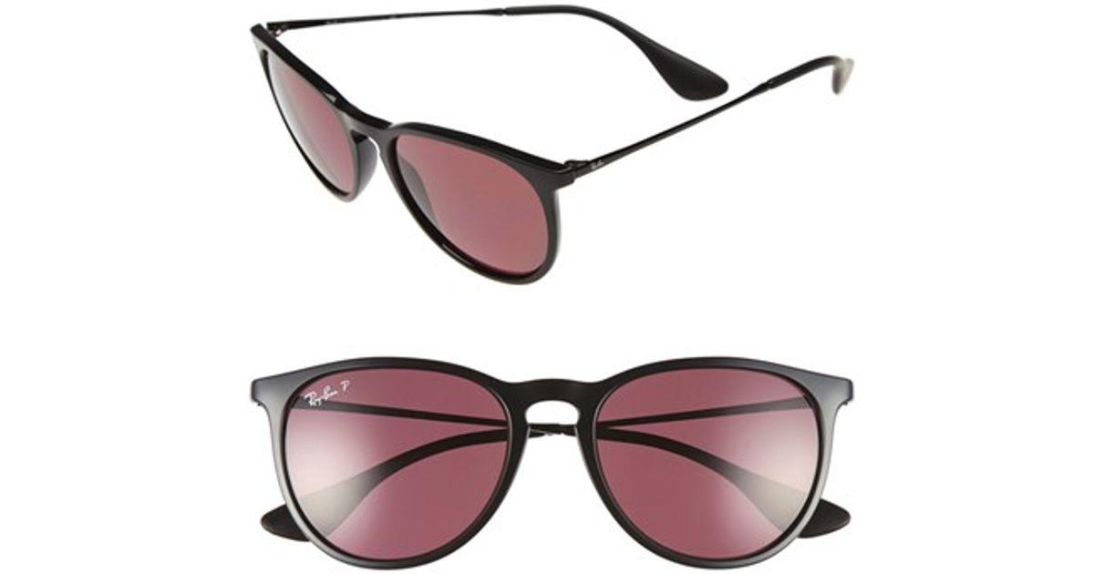 Ray Ban Sunglasses Black And Purple