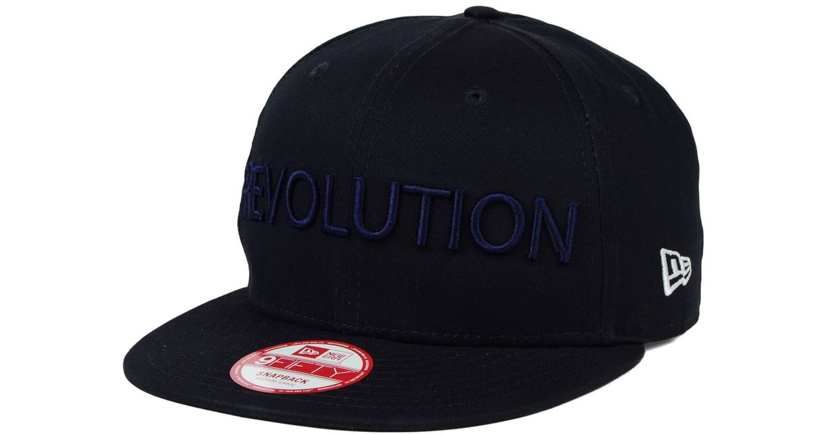 3309e530635 Lyst - KTZ New England Revolution Undefeated 9fifty Snapback Cap in Blue  for Men