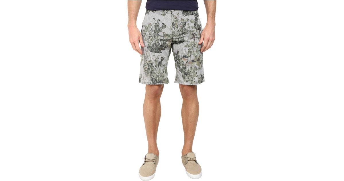 0621903f BOSS Orange Sairy-Shorts-W Slim Fit Cactus Printed Summer Stripe Shorts in  Green for Men - Lyst
