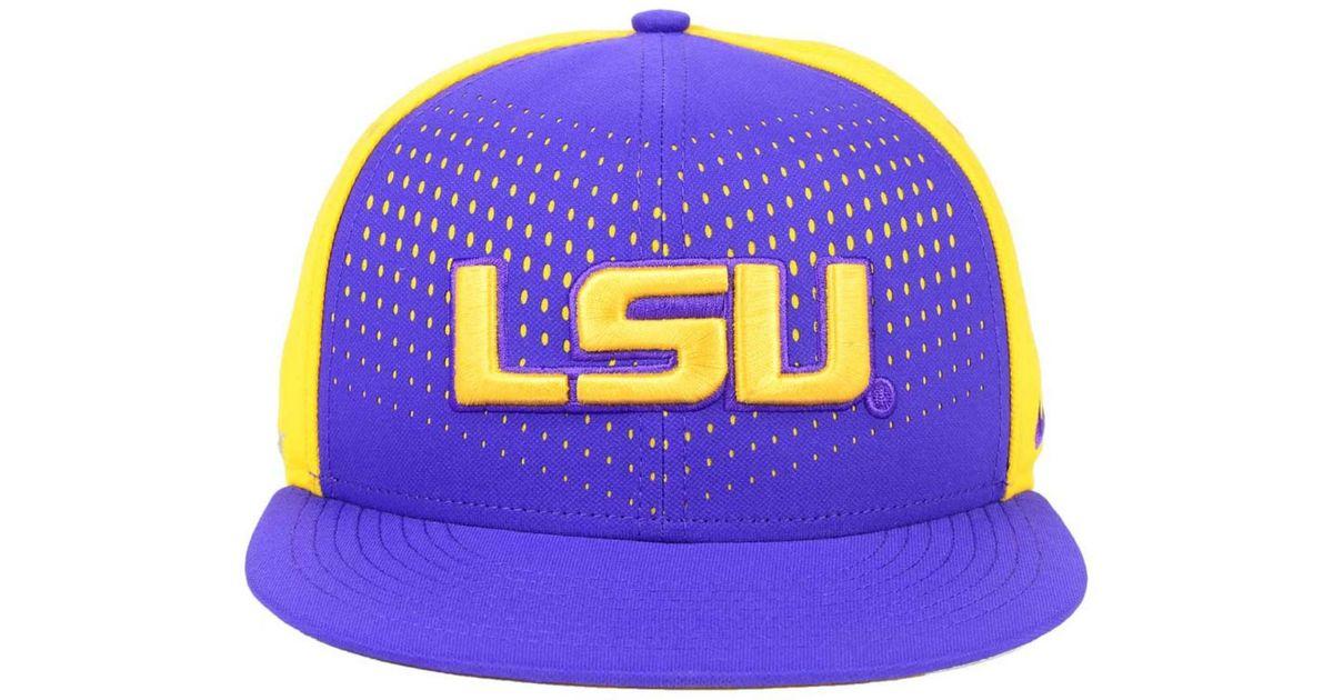 pretty nice 11a4a 267bf Lyst - Nike Lsu Tigers True Seasonal Snapback Cap in Purple for Men