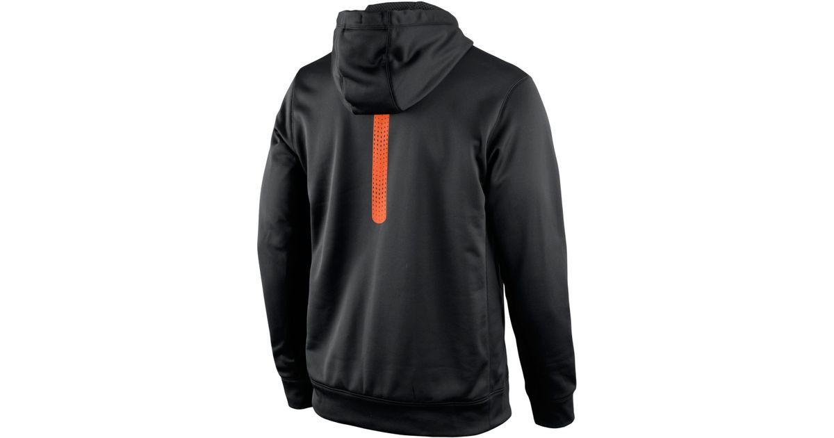 205b3ef9 Nike Men's Oklahoma State Cowboys Sideline Ko Hoodie in Black for Men - Lyst