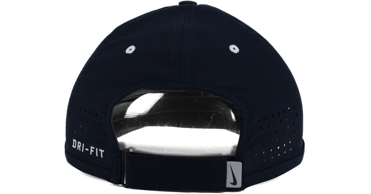 b555eaef36840 ... amazon lyst nike st. louis cardinals vapor swoosh adjustable cap in  blue for men ffcc2