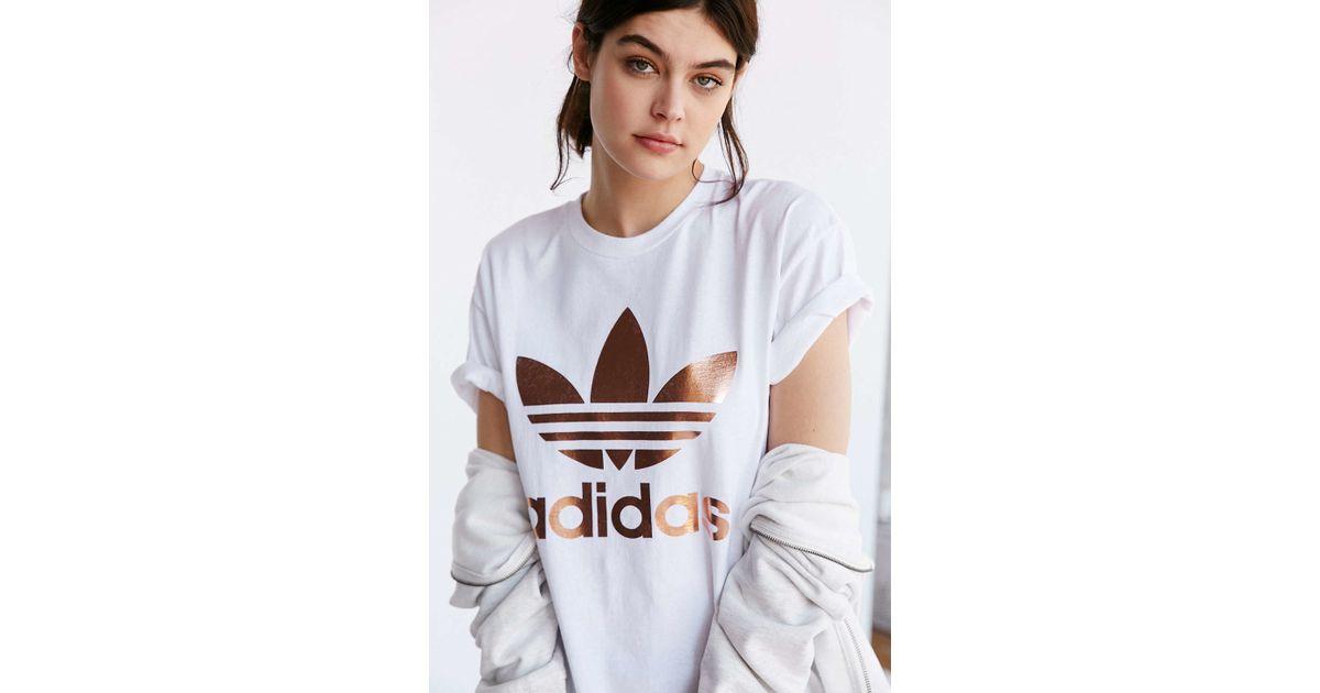 rose gold adidas clothing