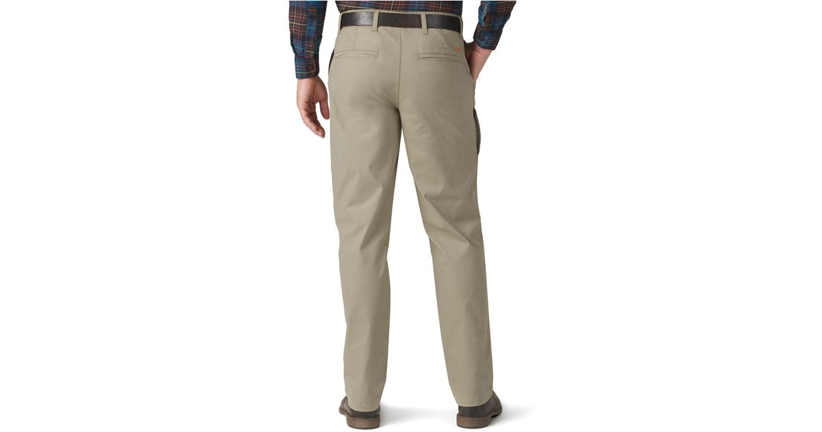 Dockers D2 Straight Fit Pacific On-the-go Khaki Flat Front Pants ...