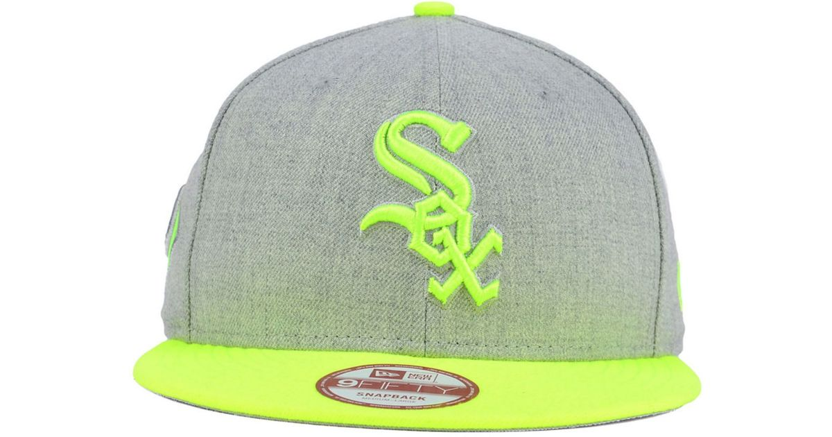 check out c66a7 e9a1d KTZ Chicago White Sox Speed Up 9fifty Snapback Cap in Gray for Men - Lyst