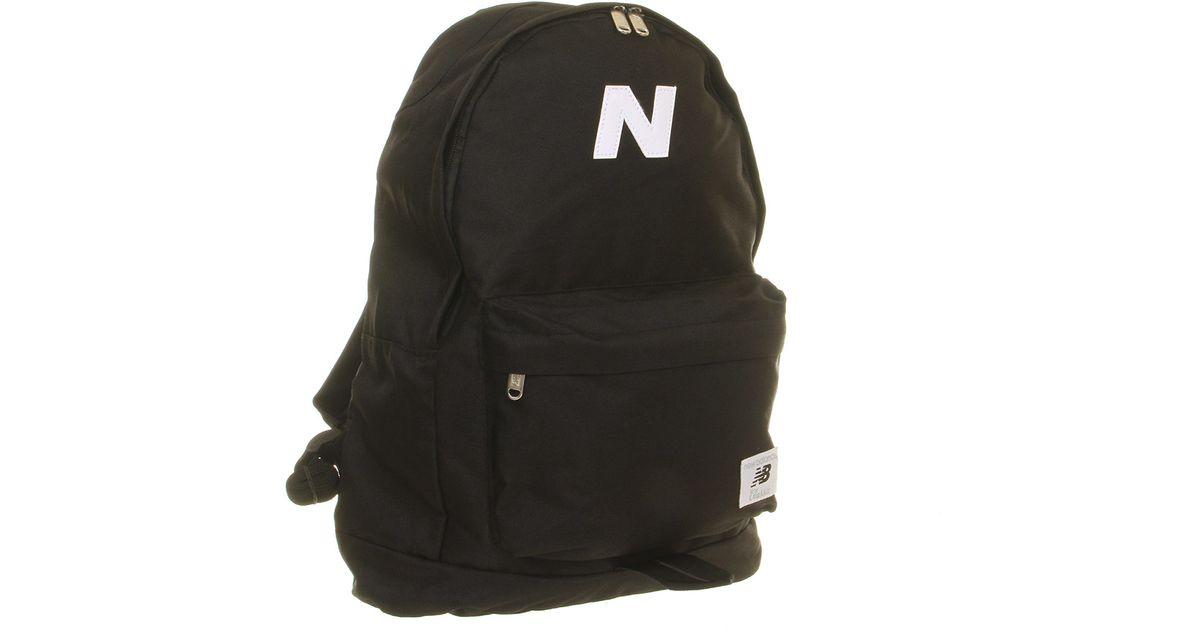 New Balance Black Mellow Backpack for men
