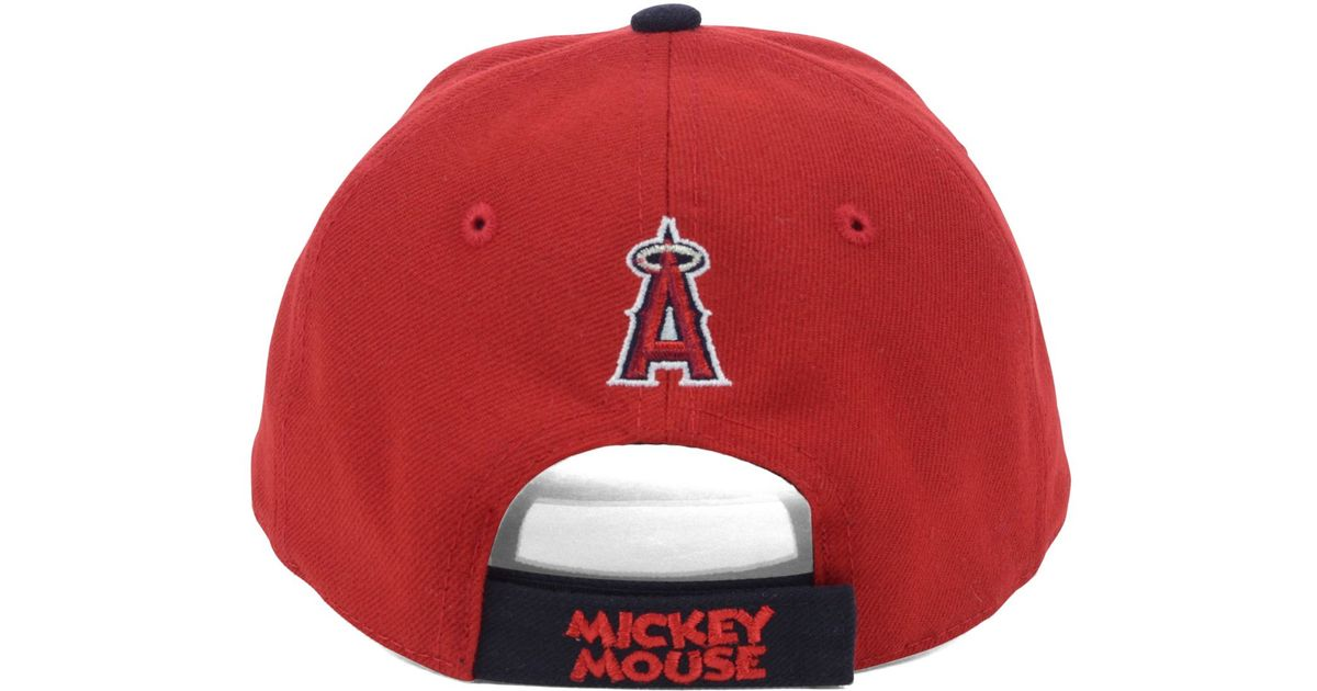 new products cdb80 c6967 KTZ Kids Los Angeles Angels Of Anaheim Disney Dub Adjustable Cap in Red for  Men - Lyst