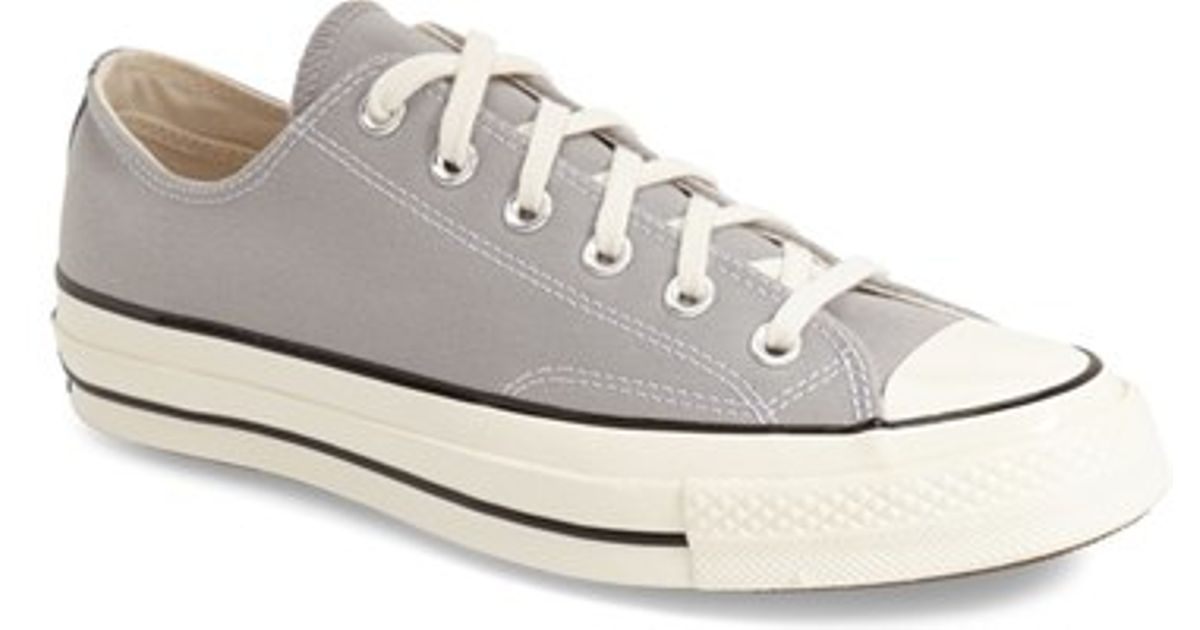448509e13cc2 Lyst - Converse Chuck Taylor All Star  70 Low Sneaker in Gray for Men