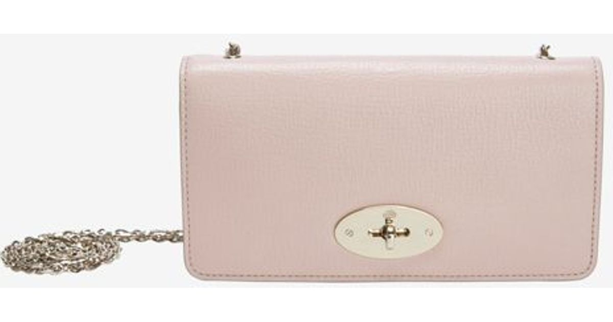 b79a184bc1 Mulberry - Bayswater Wallet Clutch Ballet Pink - Lyst