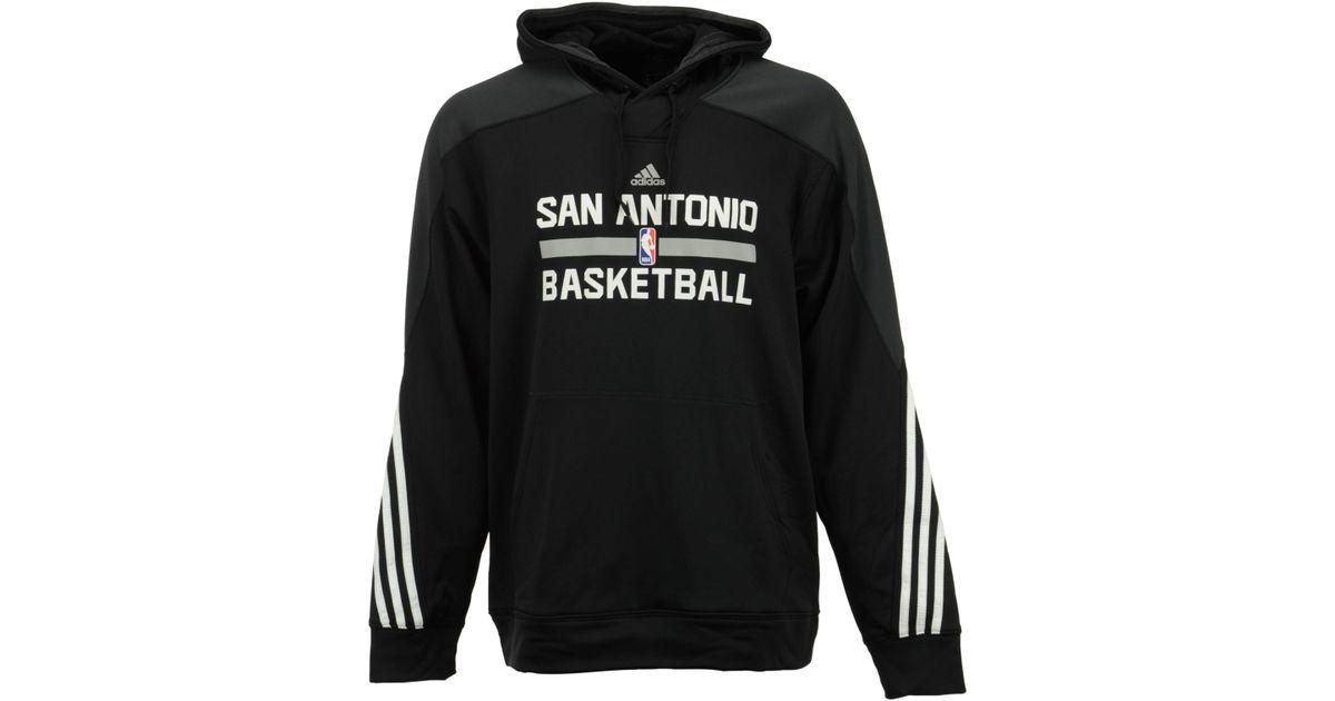 Spurs Hoodie Antonio On Adidas San Court For Men Men's Black CBoWrdeQx