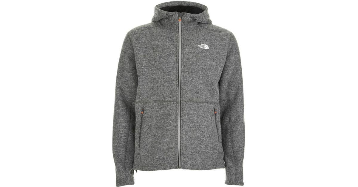 22a6e18ca The North Face Gray Men's Zermatt Full Zip Hoody for men