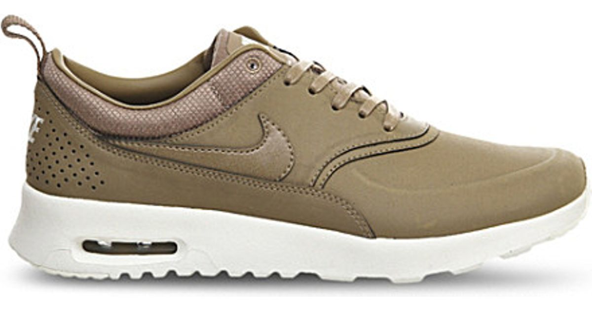 16fe31ab6 Nike Desert Leather Air Max Thea Trainers - For Women in Natural - Lyst