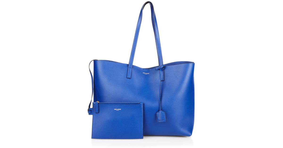 shopper tote - Blue Saint Laurent YRk7t