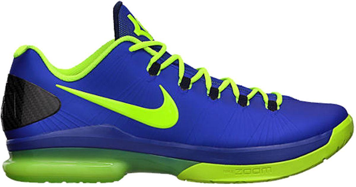 premium selection aab2e e9dd2 Lyst - Nike Kd V Elite Basketball Shoes in Blue for Men