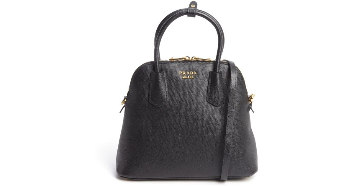 prada suede leather handbag - prada black saffiano leather small box bag
