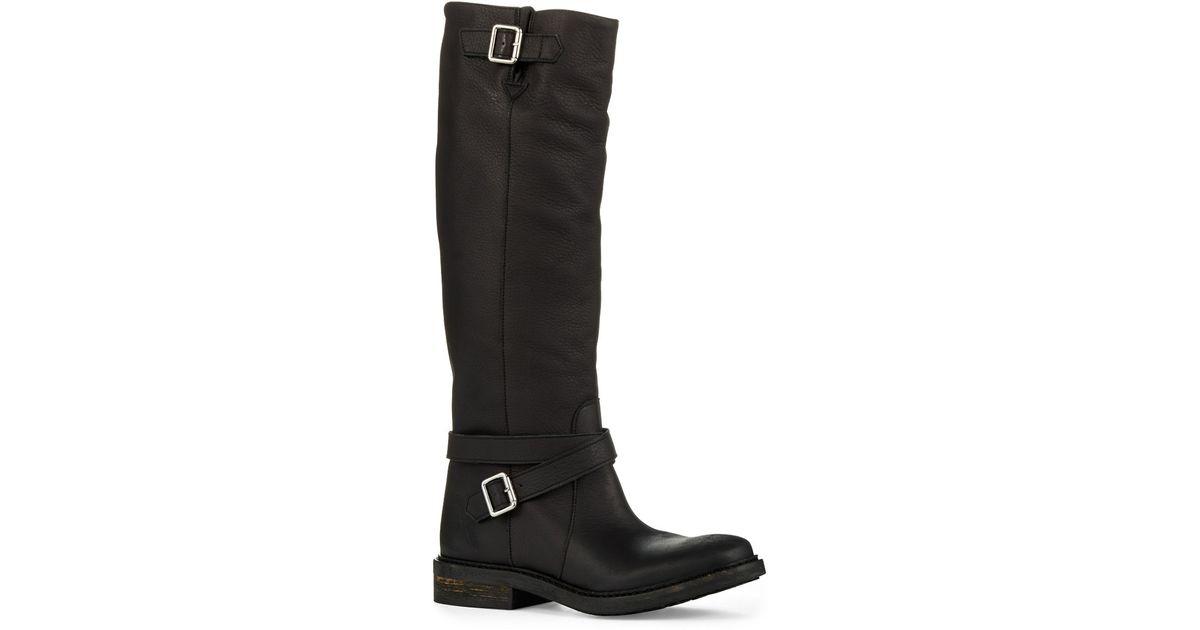 69481d2183d2 Lyst - Kg By Kurt Geiger Warrior High Boots in Black