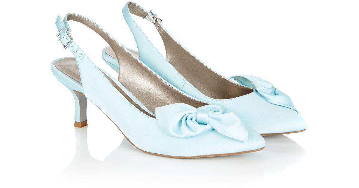 Jacques Vert Kitten Heel Slingback Shoe