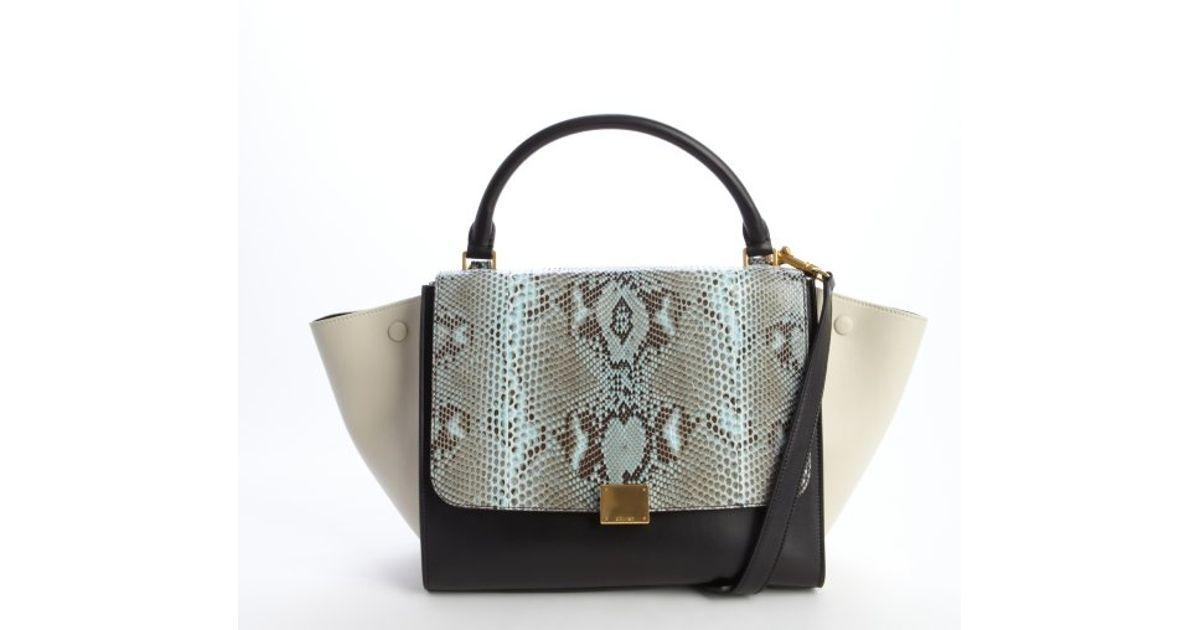 celine turquoise leather cross body bag
