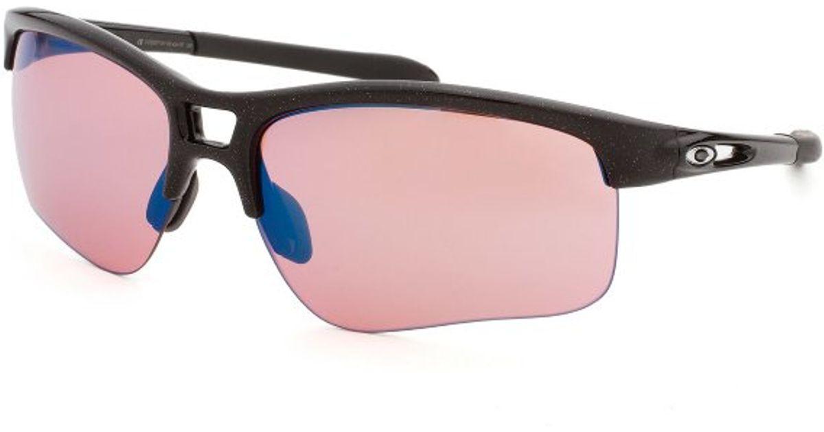 Oakley Womens Rpm Semi-rimless Black Sunglasses in Black ...
