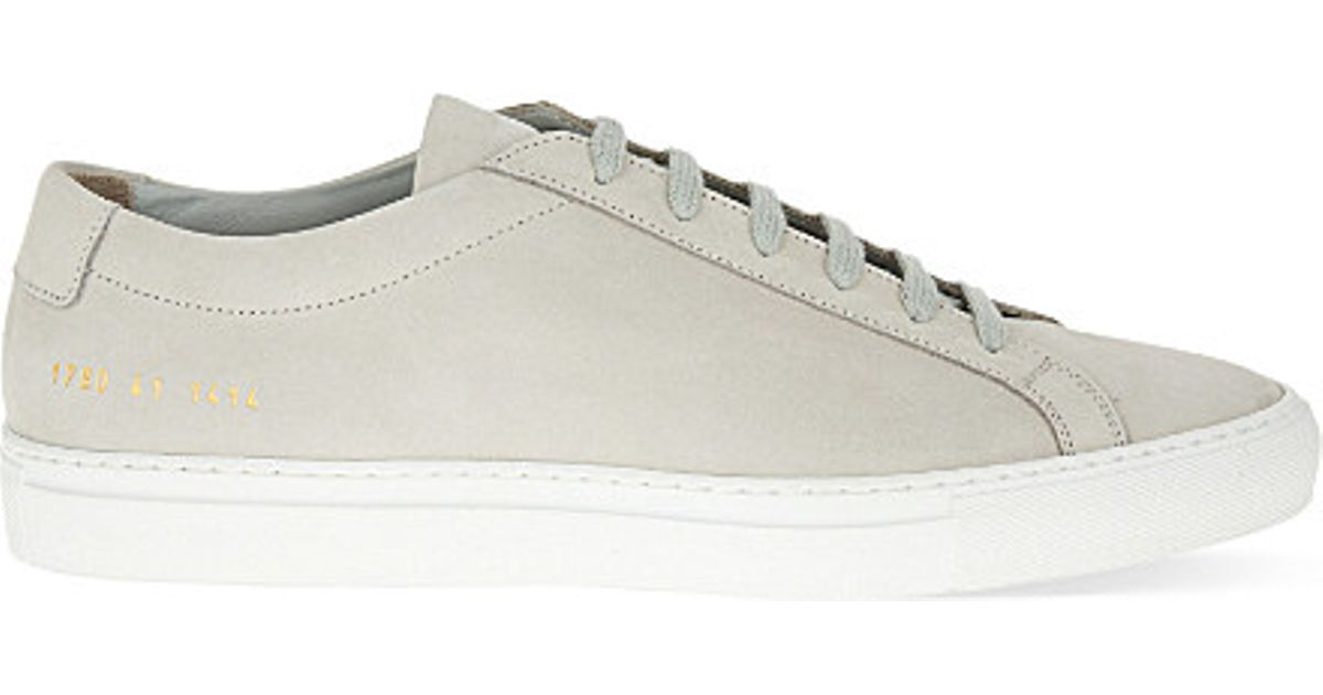 grey nubuck Achilles sneakers Common Projects tupPLxED