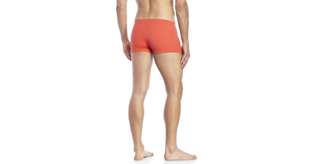 New Mens La Perla Nero Brief Swimming Shorts Trunks Speedo style Stripes