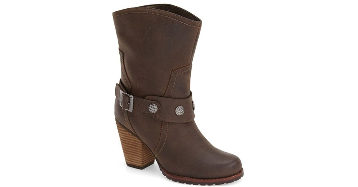 f27bc2a0c2a Eastland Brown 'Bellamy' Belted Mid Boot
