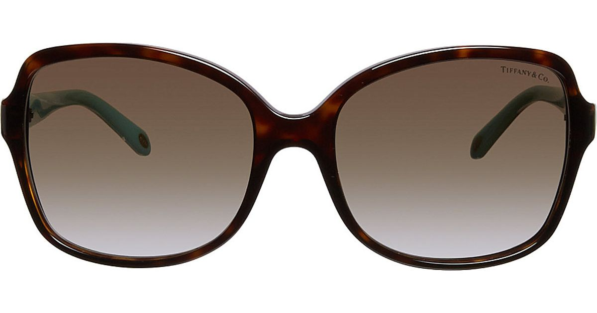 ec6e9c7b5f8 Tiffany Hearts™ Square-Frame Tortoiseshell Sunglasses - For Women in Brown  - Lyst