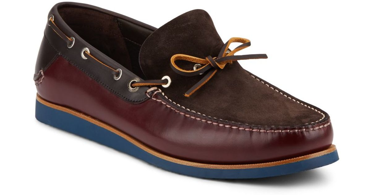 Saks Mens Boat Shoes