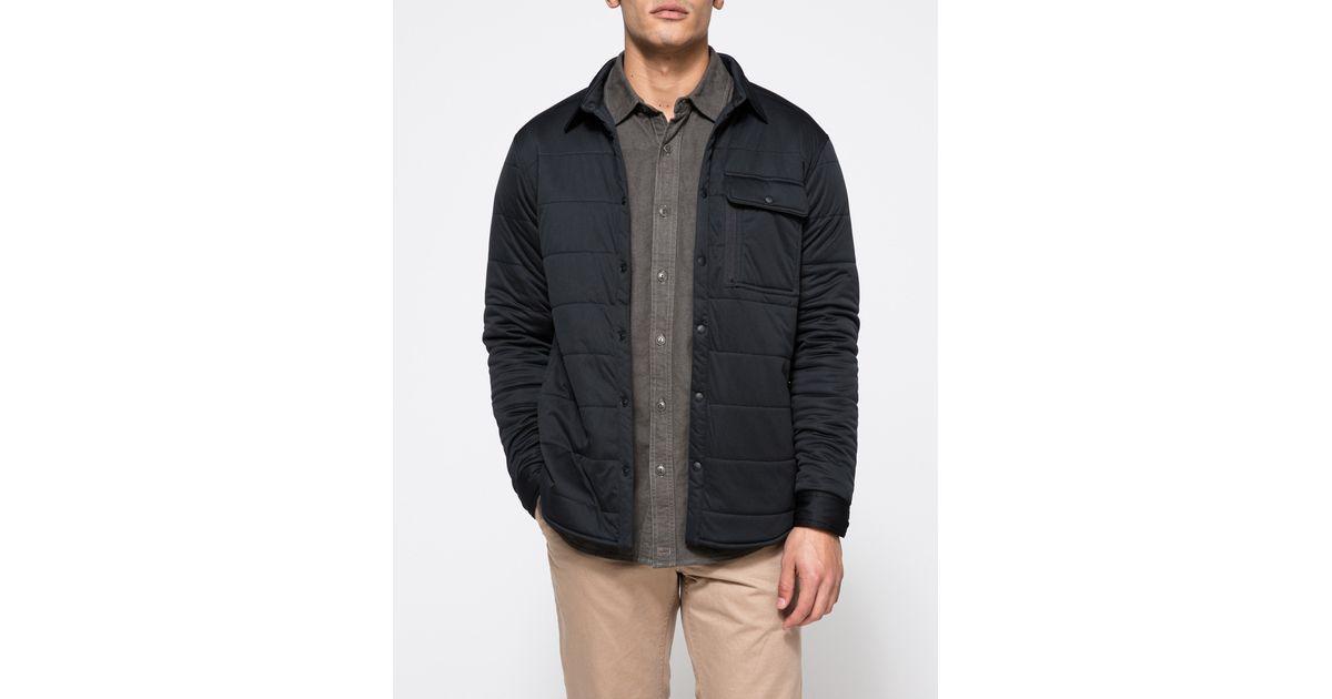 c9be40ed89d1f7 Lyst - Snow Peak Flexible Insulated Shirt in Black for Men