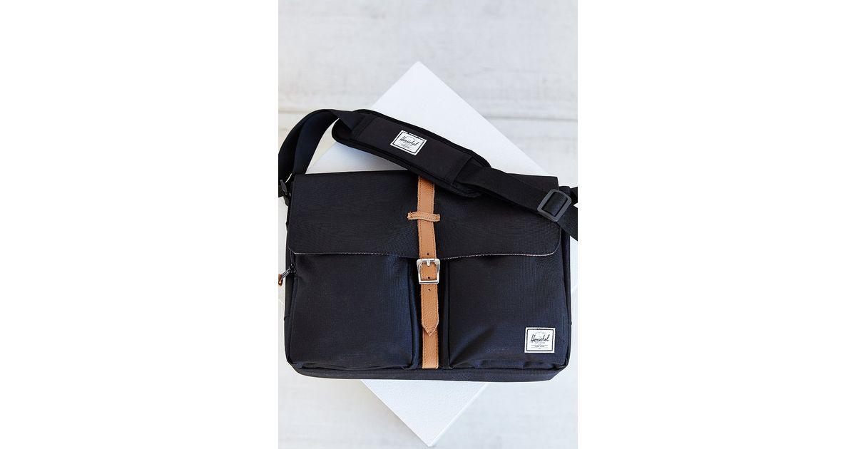 c3f1502cf2d Lyst - Herschel Supply Co. Columbia Messenger Bag in Black for Men