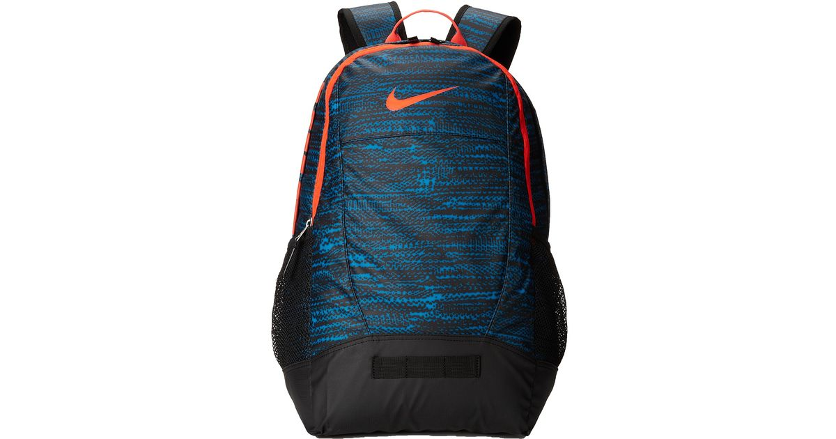 Lyst - Nike Team Training Medium Backpack - Graphic in Blue ee7337684d36d