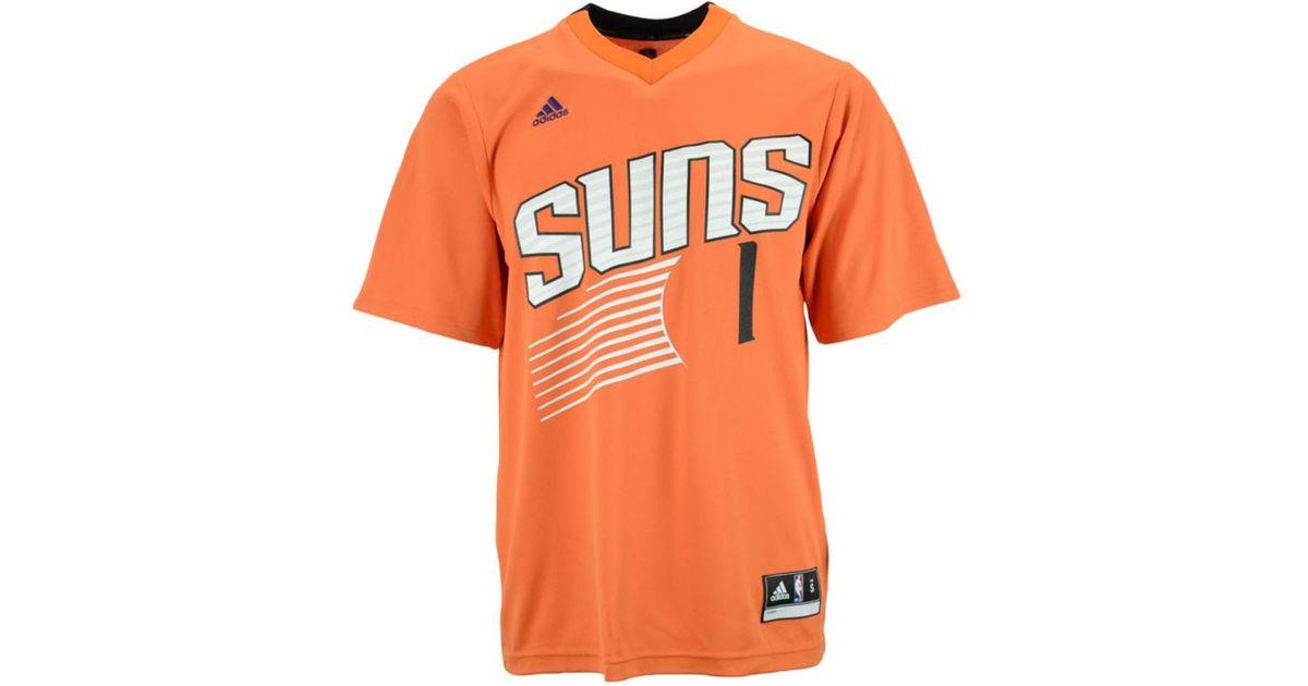 new product 828ea f5025 Adidas Orange Men's Goran Dragic Phoenix Suns Rev 30 Replica Jersey for men