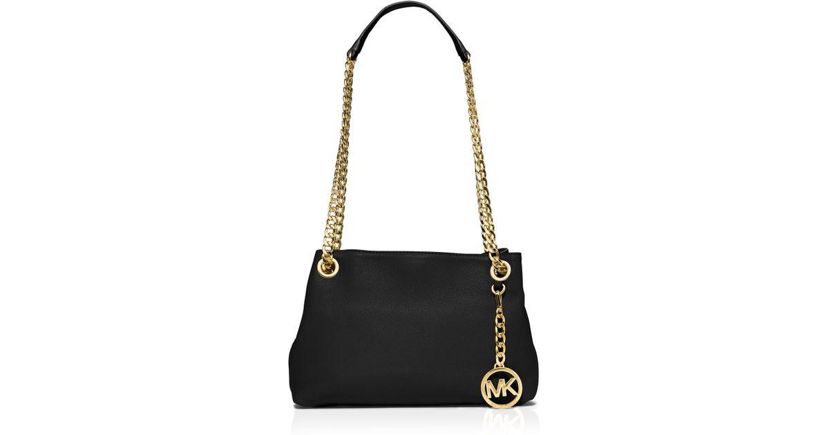 7debbfb63269 ... where can i buy lyst michael michael kors shoulder bag jet set medium  messenger in black